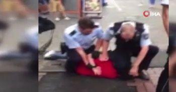 Almanya'da polis şiddeti George Floyd olayını hatırlattı