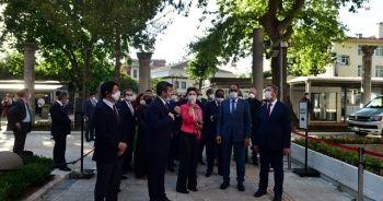 İbrahim Kalın, büyükelçilerle Ayasofya'yı ziyaret ediyor