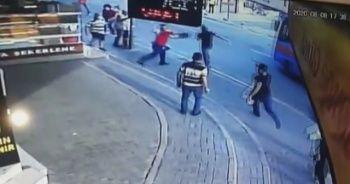 Kapkaççıyı yakalamaya çalıştılar
