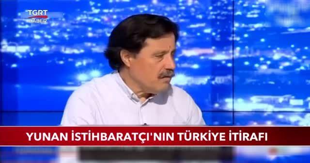 Yunan istihbaratçının Türkiye itirafı
