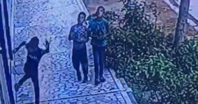 Üç çocuk kamerayı kırıp dükkanlara zarar verdi