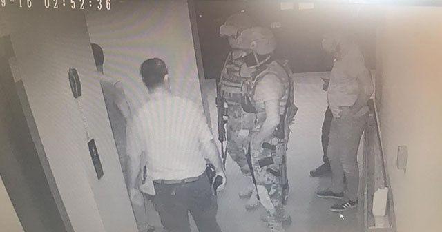 Erkek arkadaşının 9. kattaki balkondan sarkıttığı kadını özel harekat kurtardı