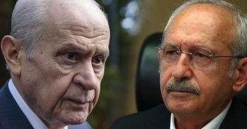 Bahçeli ve Kılıçdaroğlu yine karşı karşıya