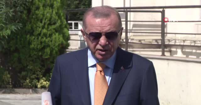 Cumhurbaşkanı Erdoğan'dan aşı mesajı