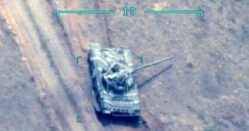 Ermenistan'a ait 2 tank daha vuruldu