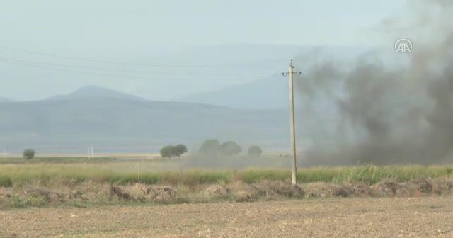 Ermenistan ordusu bölgedeki gazetecileri hedef aldı
