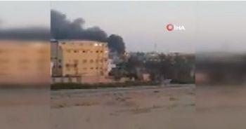 Mısır'da kimya fabrikasında dev yangın