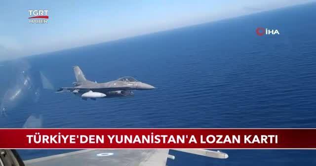 Türkiye'den Yunanistan'a Lozan kartı