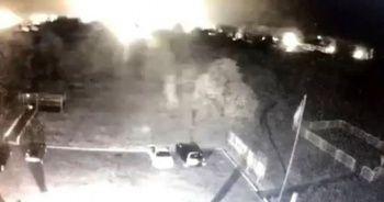 Ukrayna'da askeri uçağın düşme anına ait görüntüler ortaya çıktı