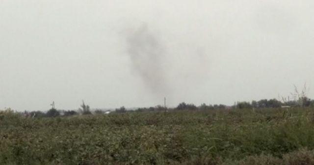 Terter bölgesinde sivil yerleşim birimleri vuruldu