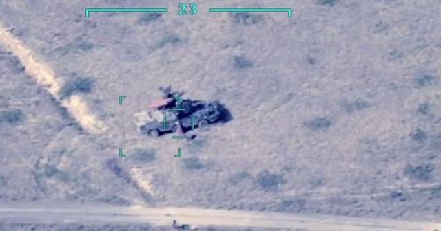 Ermeni ordusuna ait HSS ve roketatarlar imha edildi