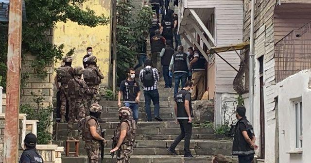 İstanbul'da özel harekat destekli dev narkotik operasyonu