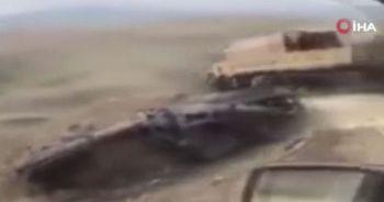 Azerbaycan tarafından kurtarılan bölgeler kamerada