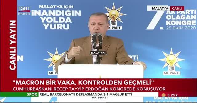 Cumhurbaşkanı Erdoğan'dan sert tepki