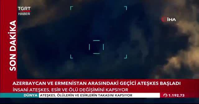 Dağlık Karabağ'da ateşkes başladı
