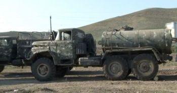 Ermenistan'dan ele geçirilen askeri teçhizat ve araçlar görüntülendi