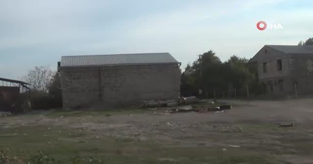 Ermenistan'ın işgalinden kurtarılan Gubadlı köyleri görüntülendi