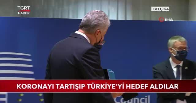 Koronayı tartışıp Türkiye'yi hedef aldılar