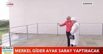 Merkel gider ayak saray yaptıracak