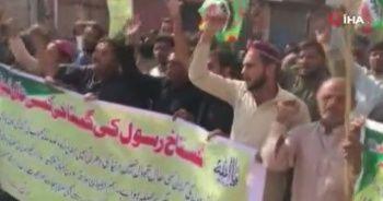 Pakistan'da Fransa protestosu