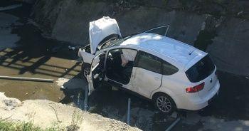 Sürücü kazayı gülerek anlattı