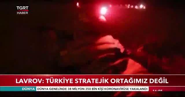 Lavrov: türkiye stratejik ortağımız değil