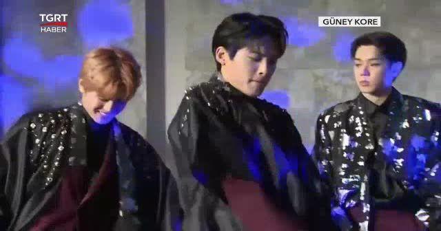Koreli pop grubundan 'erik dalı' sürprizi
