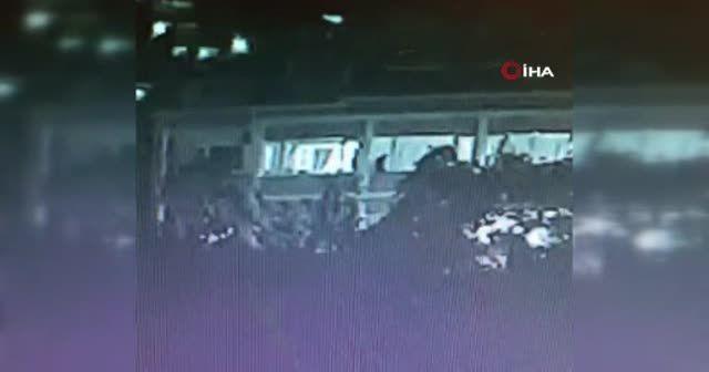 Beyoğlu'nda korkunç olay kamerada
