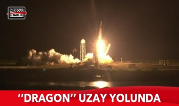 Dragon uzay yolunda