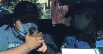 Engelli genç bir günlüğüne polis oldu