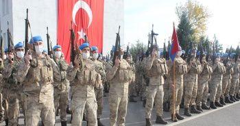 Komandolar barış için Suriye'ye uğurlandı