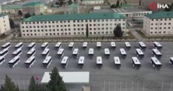 Türkiye'den Gürcistan ordusuna özel otobüs ve zırhlı iş makinesi bağışı