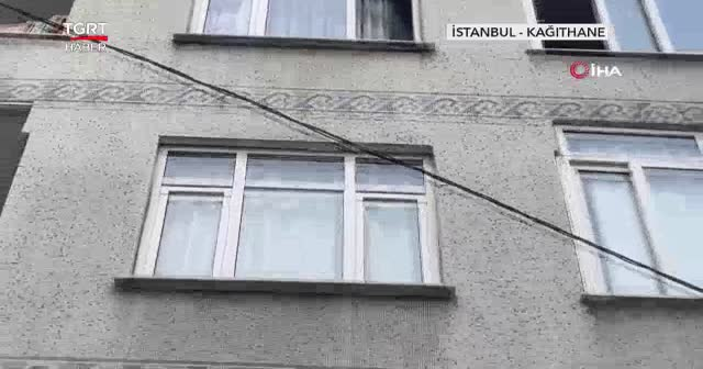 Üçüncü kattan düşen kadını sünger kurtardı