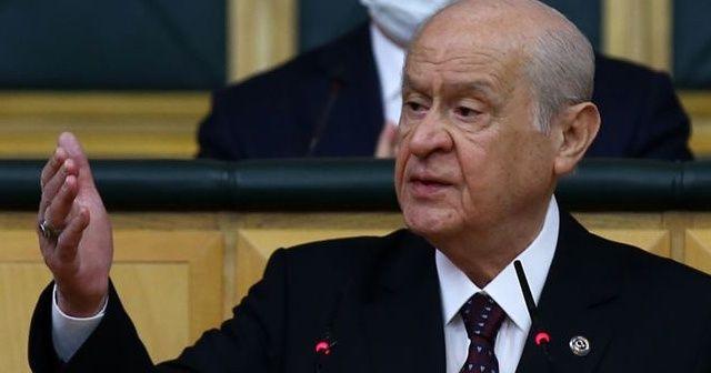 MHP Lideri Bahçeli'den Arınç'a sert tepki