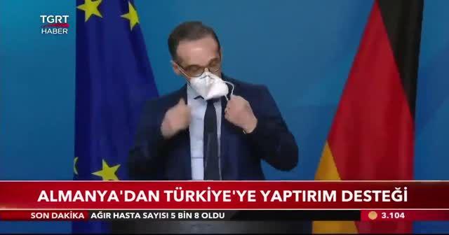 Almanya'dan Türkiye'ye yaptırım desteği