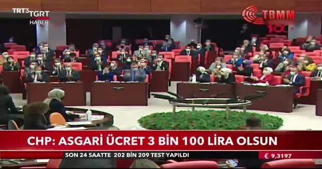 CHP'den asgari ücret yasa teklifi