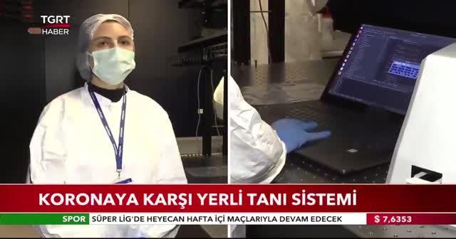 Koronavirüse karşı yerli tanı sistemi