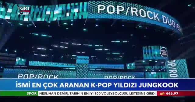 İsmi en çok aranan K-Pop yıldızı Jungkook