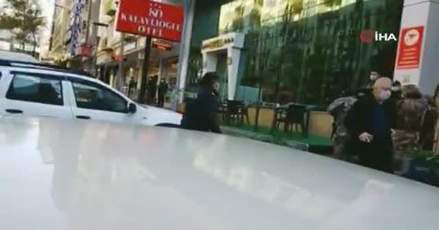 Kahramanmaraş'ta otelde silahlı saldırı: 2'si polis 5 yaralı
