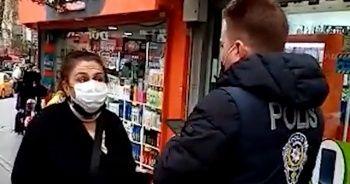 Polisi görünce maskesini taktı! Cezadan kurtulamadı
