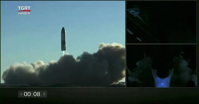 Mars'a gönderilen roket gemisi alev aldı