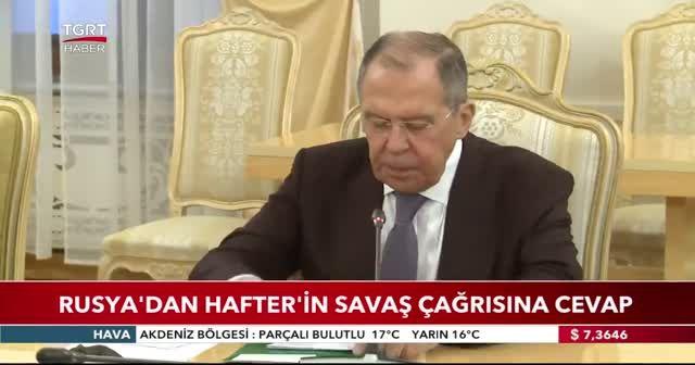 Rusya'dan Hafter'in savaş çağrısına cevap