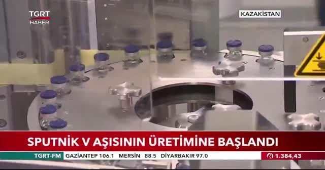 Sputnik V aşısının üretimine başlandı