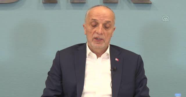 Türk-İş, asgari ücretin 3 bin liranın üzerinde olmasını istiyor