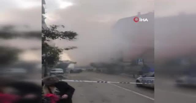 İspanya'da patlama: Huzurevi boşaltıldı
