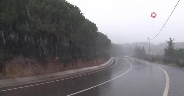 İstanbul'a yılın ilk karı düştü