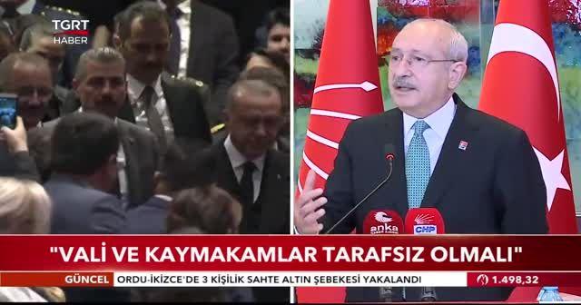 Kemal Kılıçdaroğlu: Kastettiğimiz devletin tarafsızlığıdır