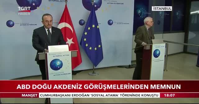 ABD Doğu Akdeniz görüşmelerinden memnun