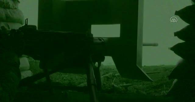 Azez'e taciz ateşinde bulunan PKK/YPG'li 7 terörist etkisiz hale getirildi
