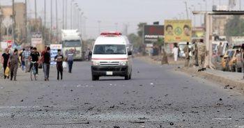 Bağdat'ın merkezinde patlama meydana geldi